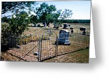 Old Grave Site 2 Greeting Card