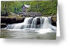 Old Grist Mill In Babcock State Park West Virginia Greeting Card