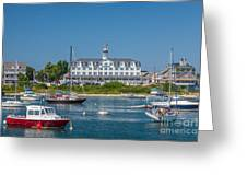 Old Harbor View Greeting Card