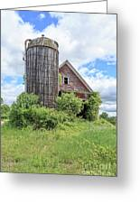 Old Historic Barn In Vermont Greeting Card