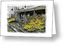 Old Homeplace Greeting Card