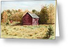 Old Homestead Barn Greeting Card