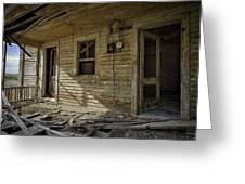 Old House 14 Greeting Card