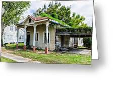 Old House Donaldsonville La-historic Greeting Card