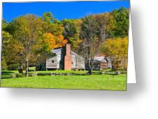 Old House In Cades Cove Tn Greeting Card