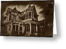 Old House In Cape May Greeting Card