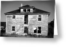 Old House On Stagecoach Road Greeting Card