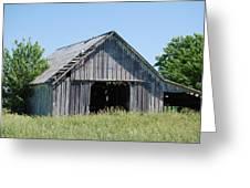 Old Iowa Barn Greeting Card