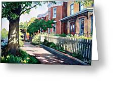 Old Iron Porch Greeting Card