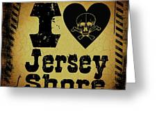 Old Jersey Shore Greeting Card