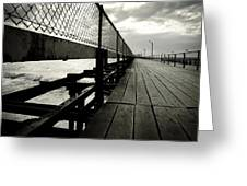 Old Jetty Greeting Card