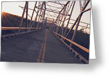 Old Knik Bridge 3 Greeting Card