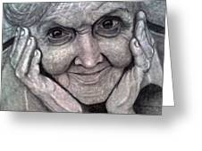 Old Lady Greeting Card