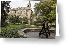 Old Main Penn State Bell  Greeting Card
