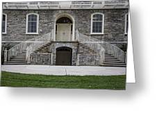 Old Main Penn State Stairs  Greeting Card