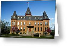 Old Main Spring Evening Greeting Card