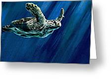 Old Man Of The Sea Greeting Card