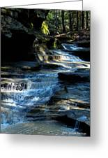 Old Man's Cave Ohio 2012 Greeting Card