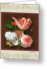 Old Masters Reimagined - Parrot Tulip Greeting Card