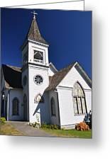 Old Methodist Church Greeting Card