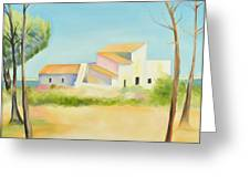 Old Mill In The Algarve Greeting Card