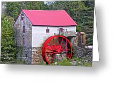 Old Mill Of Guilford Squared Greeting Card