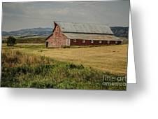 Old Montana Ranch Greeting Card