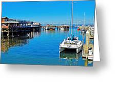 Old Monterey Wharf Greeting Card