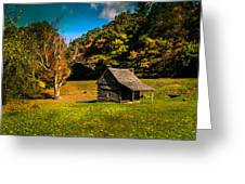 Old Mountain House Greeting Card