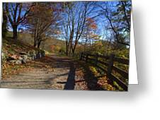 Old Mountain Road Greeting Card