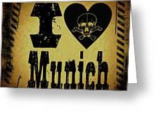 Old Munich Greeting Card