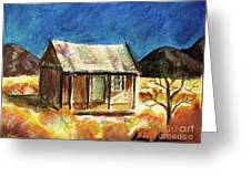 Old New Mexico Cabin Greeting Card