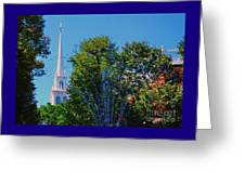 Old North Church, Boston # 3 Greeting Card