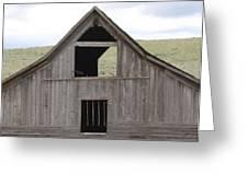 Old Oregon Barn Greeting Card