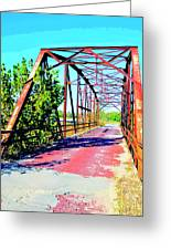 Old Ozark Trail Bridge Greeting Card