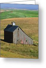 Old Palouse Barn Greeting Card