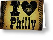 Old Philadelphia Greeting Card