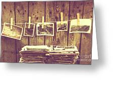 Old Photo Archive Greeting Card