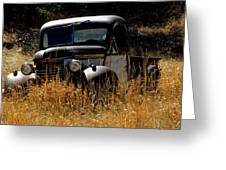 Old Pickup Truck Greeting Card