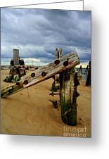Old Pilings Greeting Card