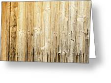 Old Planked Wood Used As Background Greeting Card