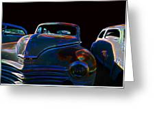 Old Plymouth Old Cars Greeting Card