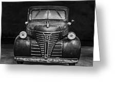 Old Plymouth Truck Square Greeting Card