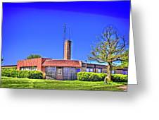 Old Police Headquarters Greeting Card