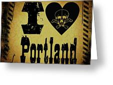 Old Portland Greeting Card