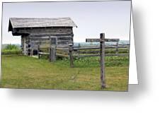 Old Prairie Home Greeting Card