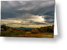 Old Rag - Calm Before The Storm Greeting Card