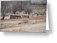 Old Ranch House Greeting Card