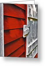 Old Red Schoolhouse Greeting Card