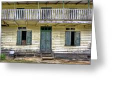 Old River House Greeting Card